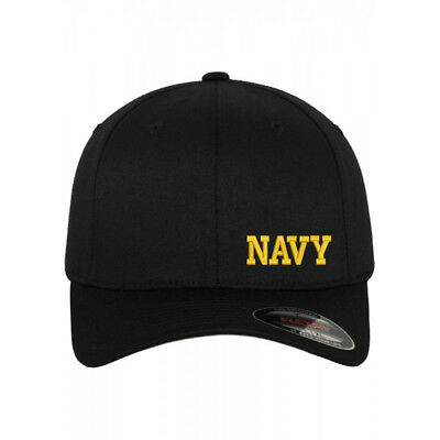 SM U.S NAVY Flexfit flex fit cap hat with personal name embroidered