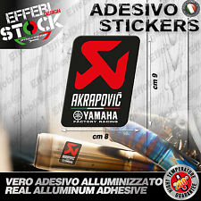 Adesivo / Sticker AKRAPOVIC YAMAHA R1 R6 FZ1 FZ6 MT TMAX FACTORY RACING CUP