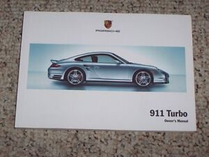 2009-Porsche-911-Turbo-Owner-User-Manual-Cabriolet-Convertible-Coupe-S-3-6L