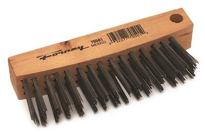 8-5//8-Inch-by Forney 70503 Wire Scratch Brush Stainless Steelwith Wood Handle