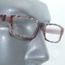 Reading Glasses Sharp Ink Style Tattoo Graffiti Frame +2.00 Purple Black