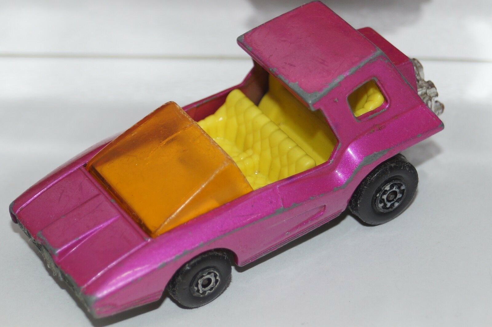 ORIGINAL Matchbox Superfast Soopa Coopa No 37 - Pink color - SPECIAL NO FLOWER