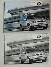 Prospekt - BMW X5 - Original BMW Teile und Zubehör, 1.2003, 24 Seiten + Preise