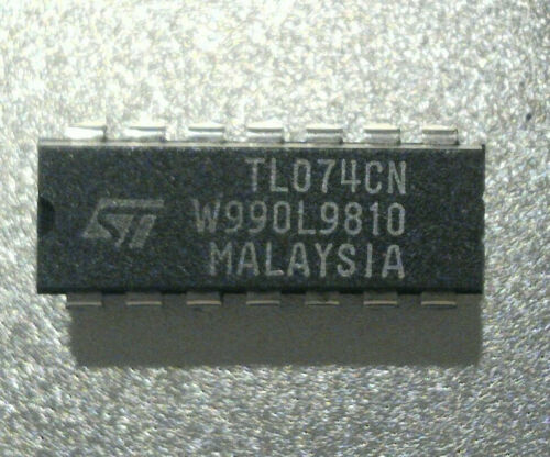 Op Amps TL074CN Operational Amplifiers