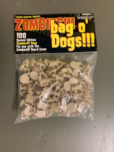 Twilight Creations Zombies Accessory Bag O Dogs Board Game