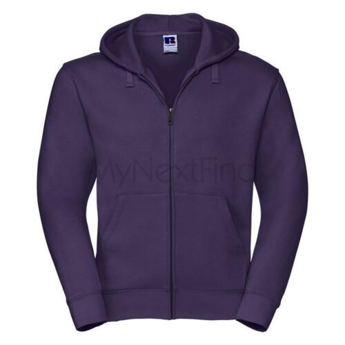 Russell Authentic Zipped Hooded Sweat