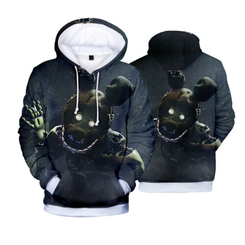 Anime Five Nights at Freddy/'s Hoodie Pullover Unisex Coat Casual Sweatshirts 10