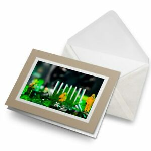 Greetings-Card-Biege-Technician-Motherboard-IT-3594
