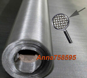 1pc 304 stainless steel 20 mesh 840μm filtration 30x100cm 12''x40'' woven wire