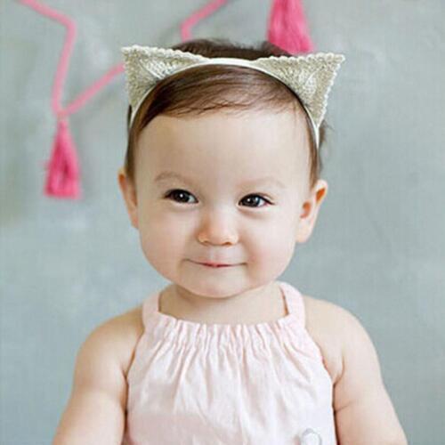 Toddle Photo Props Infant Elastic Cat Ears Headband Hair Band
