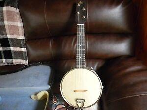 Details about banjo ukalele made in britain