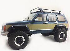 1/10 Jeep Cherokee XJ Hard Body (313mm) w/ FREE Metal Emblem Set
