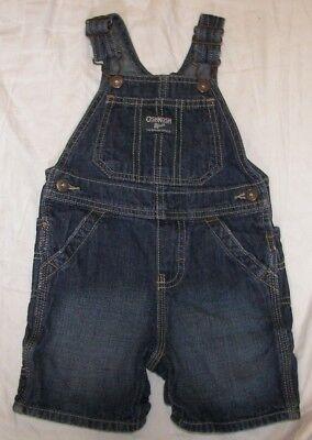 Boys' Clothing (newborn-5t) Size 18 Months Glorious Oshkosh B'gosh Overall Shorts