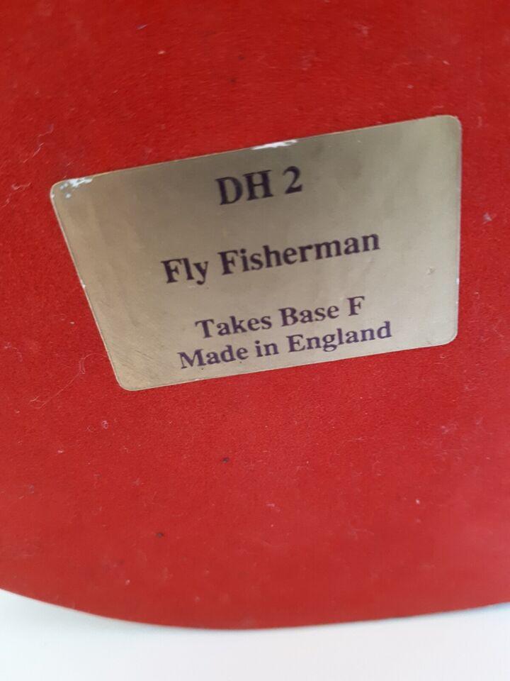Bronzelegering. Fisker, David Hermes, motiv: Lystfisker