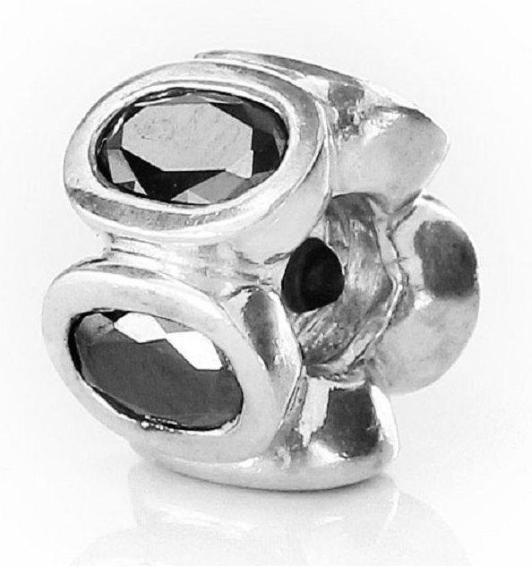 Black Oval Charm 29.5x15x0.80mm 8 Oxidized Black Brass Oval Charms With 1 Hole D985
