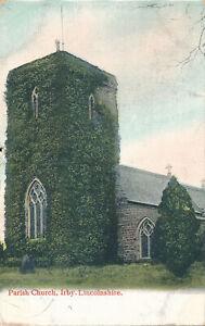 PC48946 Parish Church. Irby. Lincolnshire. Jay Em Jay. 1906