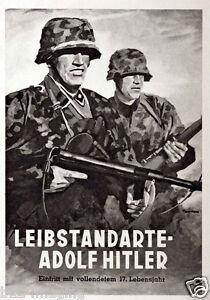 German-WW2-Leibstandarte-AH-Waffen-SS-Poster