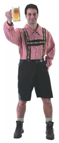 Linea UOMO BAVARESE lerderhosen Oktoberfest Tedesco Stag Do Costume Vestito