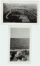 RARE Orig  1932 Olympics  LOT of 2 Snapshot Photos Los Angeles, CA California