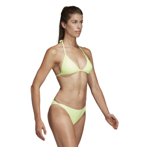 Details about Adidas Women Bikini Swimming Solid Triangle Beach Swimwear Training Pool DQ3180