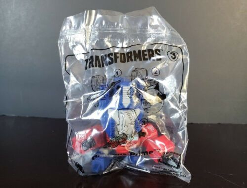 *NEW* 2018 MCDONALDS TRANSFORMERS OPTIMUS PRIME FIGURE Sealed Happy Meal Toy