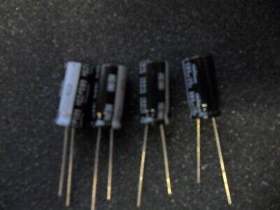 2 PER LOT ECA-1VFQ222 2200uF 35V ALUMINUM ELECTROLYTIC CAP HFQ RADIAL