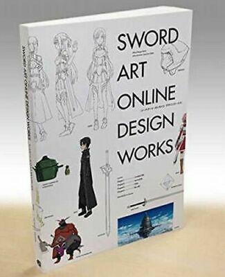 Sword Art Online Design Works Illustration Art Book Anime Manga SAO Japan F//S