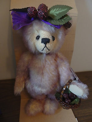 Annette Funicello Dolls & Bears Initiative Annette Funicello Mohair Bear Boysenbeary Patch Flavorite Series 546 Of 2500 Nib Year-End Bargain Sale