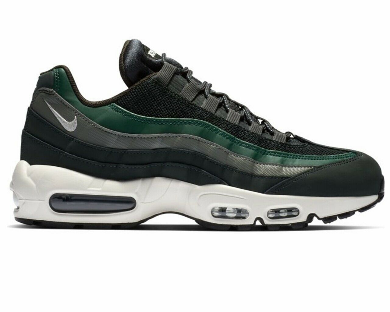 Nike Air Max 95 Essential 749766 304 Mens Trainers Outdoor Green Womens shoes