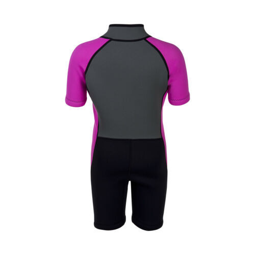 IST WSK-03 Kids 3mm Shorty with Super Stretch Panels and Front Zip
