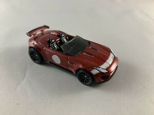 HOT-Wheels-JAGUAR-F-Type-SVR-PROJECT-7-ROSSO-2020-5-Pack-Nuovo-di-zecca-loose-1-64
