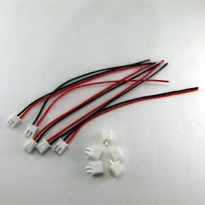 5-Sets-JST-XH-2-Pin-2-5mm-Connector-Plug-F-M-150mm-1S1P