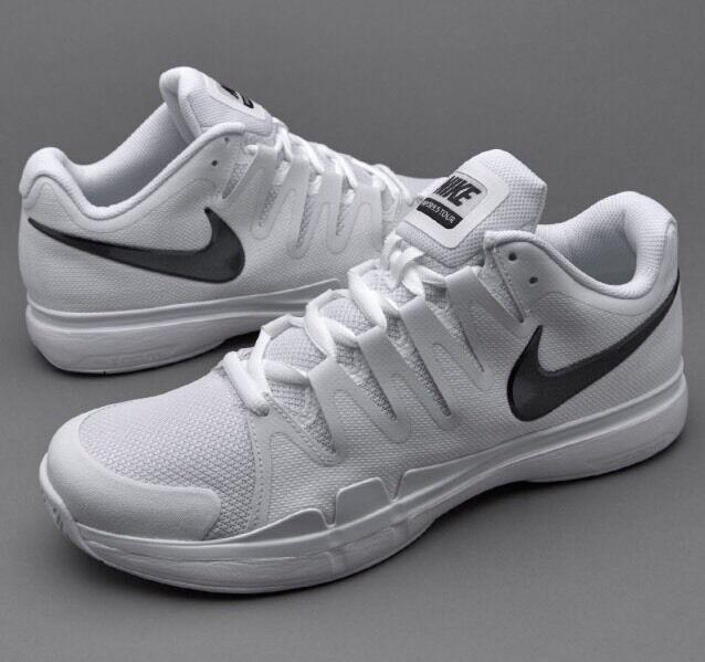 B1 Nike 2016 Zoom Vapor 9.5 Tour QS Noir Blanc UK 7.5 42 Tennis Chaussure 812937-101-