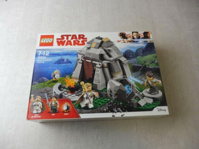 Boîte Lego Star Wars, Entraînement sur l'île d'Ahch-To, 75200, neuf et scellé