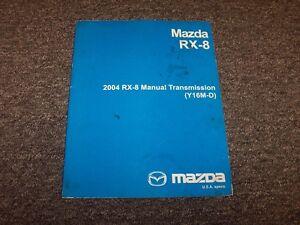 2004 mazda rx8 y16m d manual transmission workshop shop service rh ebay com 2004 mazda rx8 service manual 2004 Mazda Mazda 6