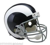 La Rams Throwback Replica Full Size Football Helmet