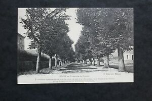 Tarjeta-Postal-CPA-Cluny-Paseo-Del-Fouettin