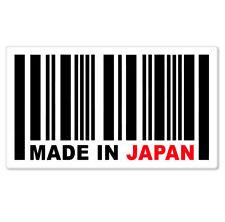 "Made in Japan UPC Styling JDM Vinyl Car Sticker Decal 5"" x 3"""