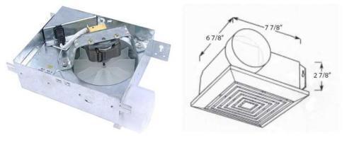 Bath Fan MC050