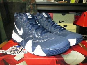 best sneakers 69668 f618f Details about SALE NIKE KYRIE 4 TB IV TEAM BANK MIDNIGHT NAVY WHITE AV2296  402 SZ 10.5 IRVING
