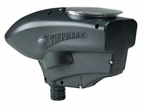 Tippmann-SSl200-Electronic-Paintball-Loader-Black