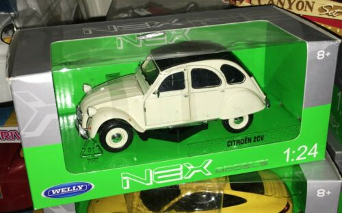 Welly nex citroen Citroën 2CV 2 CV 4 6 Skala 1//24