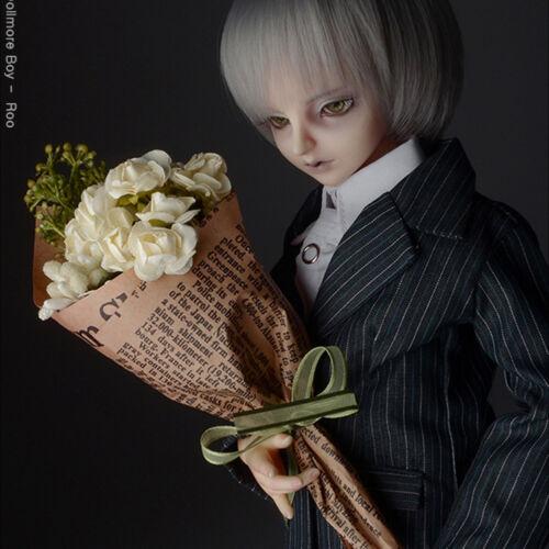 White DOLLMORE 1//3 1//4 BJD accessory Large Flower Bouquet