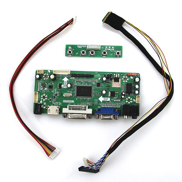 TL Q2 HDMI+DVI+VGA LCD LED LVDS Driver Controller board Kit for LP156WH4