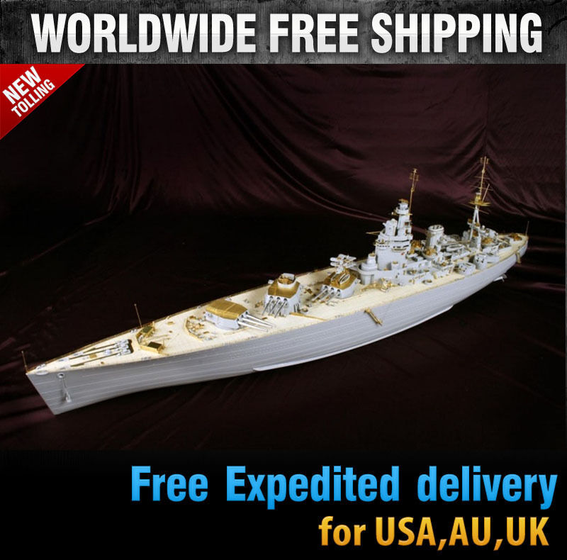 Hobby365 Ny 1 200 HMS RODNEY Detail-Up DX PACK for Trumpeter\35;MD20013
