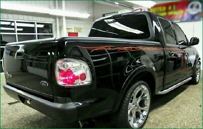 FORD F-150 F-250 F-350 F-SERIES Harley Style Flame Cast Vinyl Stripes Decals Kit