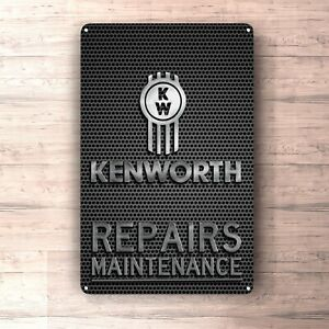 Sinal de manutenção Reparos Kawasaki metalsign Para Garagem homem da caverna