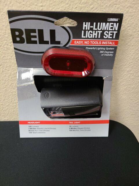 Bell Sports Lumina 300 LED White Bicycle Light 7122076-1 Each