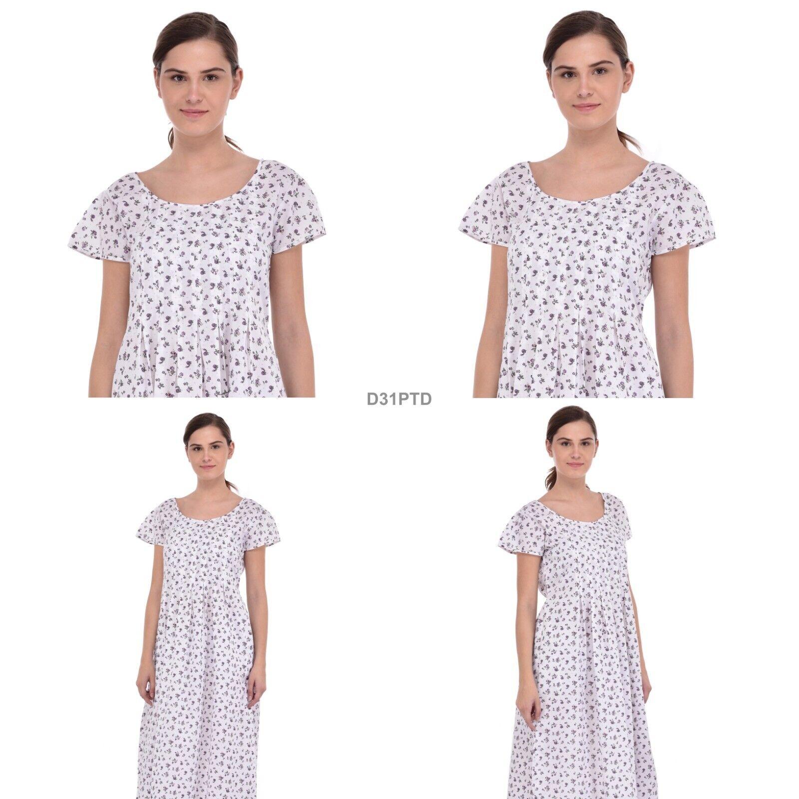 Cotton Cotton Cotton Lane Wrinkle-resistant Dress D31PTD. Sizes to 38 a49ff7