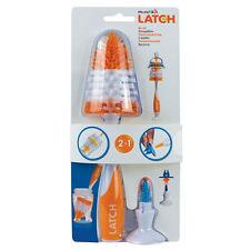 Baby Milk Bottle Teat Valve Brush Clean Stand Munchkin Latch Orange